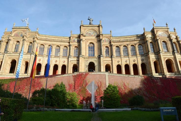 Maximilianeum Westfassade